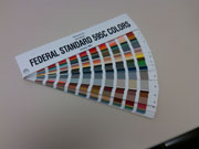 AMS-STD-595 (FEDERAL STANDARD 595C) COLOR FAN DECK - Product Image